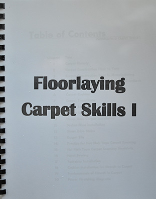 Floorlaying Carpet Skills 1
