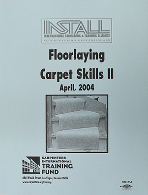 Floorlaying Carpet Skills 2